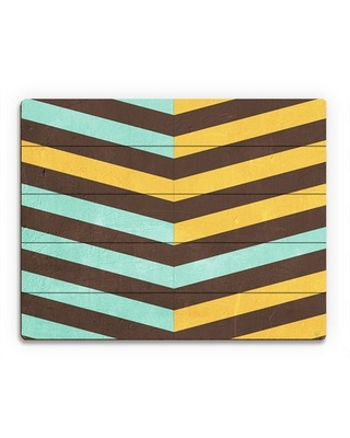 Discover Deals On Stripe Life Beach Graphic Art On Plaque Click Wall Art Size 24 H X 20 W X 1 D
