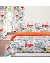 Crayola Whelping Reversible Comforter Set FOWH-XQU Size: Twin