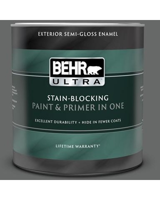 The Best Sales For Behr Ultra 1 Qt T11 5 Not So Innocent Semi Gloss Enamel Exterior Paint And Primer In One