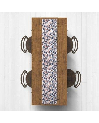 Spectacular Deals On Red Barrel Studio Seral Floral Table Runner X113631229 Size 72 X 16