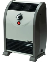 Lasko 1,500 Watt Portable Electric Fan Compact Heater with Temperature Regulation System 5812
