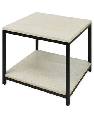 American Trails Studio End Table in White