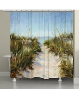 Rosecliff Heights Dixon Sand Dunes Shower Curtain ROHE3009