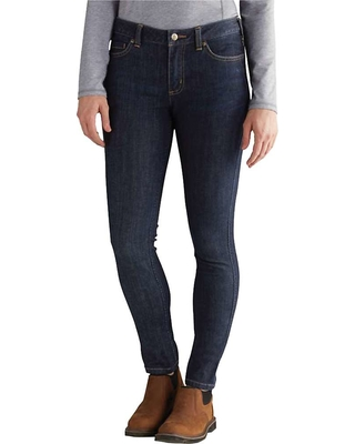 Carhartt Women's Slim-Fit Layton Skinny Leg Jean - 14 Regular - Midnight Sky