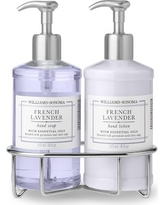 Williams Sonoma French Lavender Hand Soap & Lotion, Deluxe 5-Piece Set