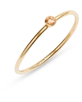 Set & Stones Presley Stacking Ring, Size 8 in Gold/Champagne at Nordstrom