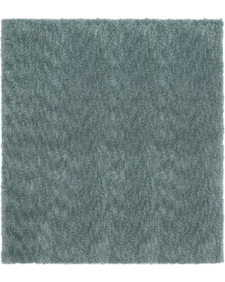 Home Decorators Collection Ethereal Aqua Sea 8 ft. x 8 ft. Square Indoor Area Rug