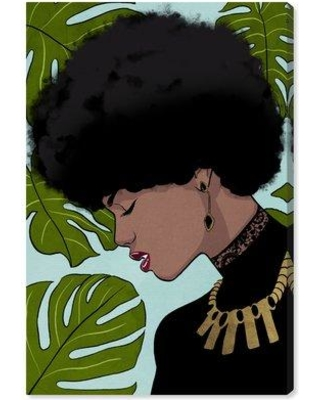 New Deal On House Of Hampton Lady Of Monstera By Oliver Gal Graphic Art Print Cj297707 Format Wrapped Canvas Size 15 H X 10 W X 1 5 D