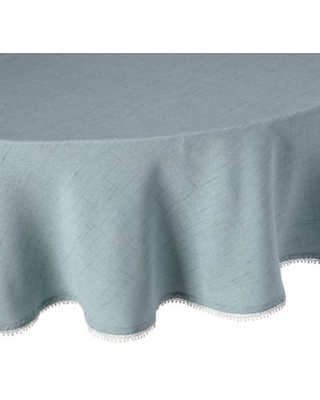 Lenox® French Perle 70-Inch Round Tablecloth in Ice Blue