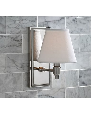 Chrome Hayden Single Shade Sconce