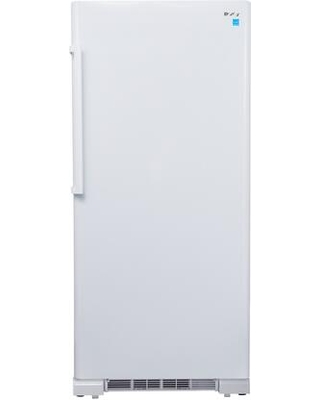"""DUF167A4WDD 30"""" Designer Series White Upright Freezer with 16.7 cu. ft. Capacity Frost Free Design Digital Thermostat and LED"""