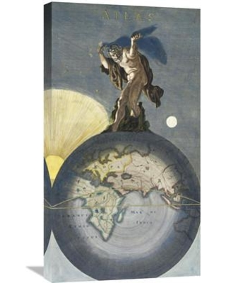 Global Gallery 'Atlas' by Justus Danckerts Painting Print on Wrapped Canvas GCS-281945-30-142