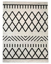The Best Sales For Elle Geometric Navy Blue Area Rug Balta Rugs Rug Size Rectangle 7 10 X 10