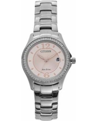 Citizen Eco-Drive Women's Silhouette Stainless Steel Watch, Size: Small, Silver