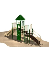Kidstuff Playsystems, Inc. Playsystem 5977 Color: Green, Tan and Brown