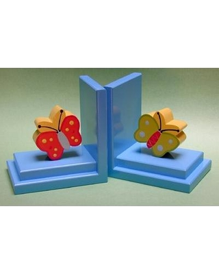 One World Butterfly Book Ends BG00038506-504