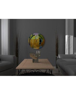 East Urban Home Branden Wall Clock W001771664 Size: Large