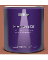 New Deal On Behr Ultra 1 Qt Bxc 39 Sunset Orange Matte Interior Paint And Primer In One