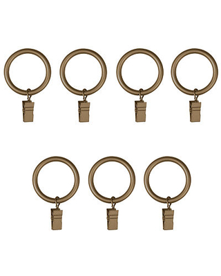 Umbra Large 7-pc. Curtain Rings, One Size , Yellow