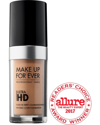 MAKE UP FOR EVER Ultra HD Invisible Cover Foundation Y345 - Natural Beige 1.01 oz/ 30 mL