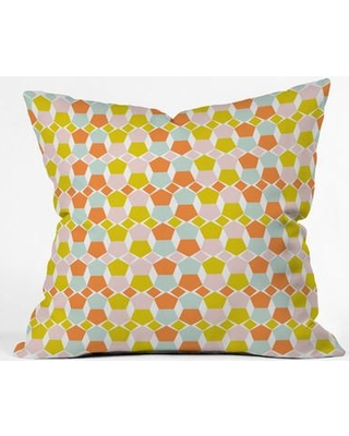 Deny Designs Hello Twiggs Bring Summer Back Throw Pillow 51993-thrpi Size: Large