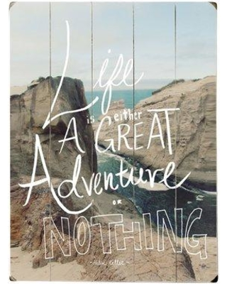 Artehouse LLC Life Is Great Photographic Print Multi-Piece Image on Wood 0004-3282