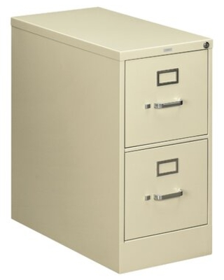210 Series 2-Drawer Vertical Filing Cabinet HON Color: Putty