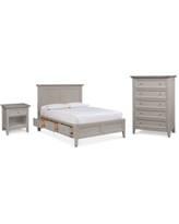 Amazing Deal On Quincy Bedroom Furniture 3 Pc Set California King Bed Nightstand Dresser Created For Macy S