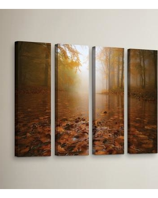 """Loon Peak Autumn Mood 4 Piece Photographic Print on Wrapped Canvas Set LOON5457 Size: 36"""" H x 48"""" W x 2"""" D"""