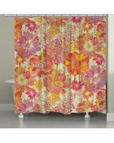 LauralHome Full Bloom Shower Curtain FB74SC