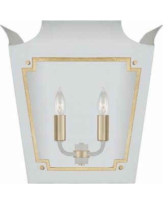 Visual Comfort and Co. Julie Neill Caddo 16 Inch Wall Sconce - JN 2020SW/G-CG