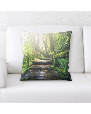 East Urban Home Jungle Throw Pillow W000676810