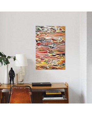 """East Urban Home 'Untitled 47' Graphic Art Print on Canvas ESBH6444 Size: 26"""" H x 18"""" W x 0.75"""" D"""
