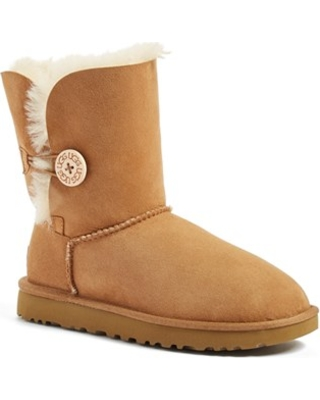 Women's UGG Bailey Button Ii Boot, Size 5 M - Brown