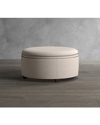 Pleasing Cant Miss Fall Deals On Tamsen Upholstered Round Storage Alphanode Cool Chair Designs And Ideas Alphanodeonline