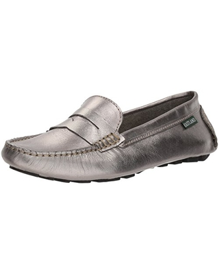 Eastland Women's Patricia Loafer, Silver, 7.5 M