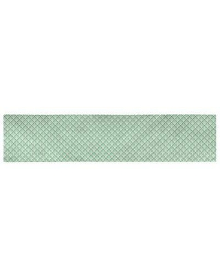 Deals For Latitude Run Avicia Geometric Table Runner Material Polyester Polyester In Yellow Green Size 73 5 X 17 5 Wayfair
