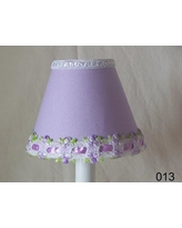 "Silly Bear Venise Lace 11"" Fabric Empire Lamp Shade LS-013"