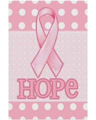"""Winston Porter 'Pink Polka Dot Hope' Graphic Art Print on Wrapped Canvas WNPO5489 Size: 19"""" H x 12"""" W x 2"""" D"""