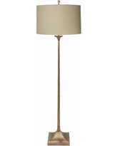 Natural Light Gramercy Gilded Gold Iron Metal Floor Lamp