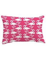 Check Out Deals On Granby Flamingo Wool Lumbar Pillow Bay Isle Home