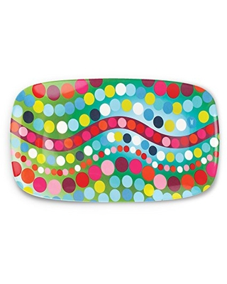 """French Bull 13"""" Rectangular Platter - Melamine Platters and Serving Ware - Plate, Dish, Serving, Collection - Bindi"""