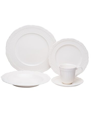 Tuscan Villa 20 Piece Dinnerware Set, Service for 4