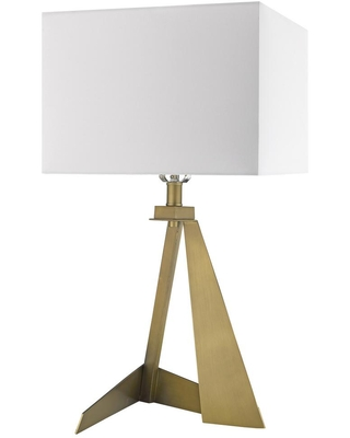Shopping Special For Trend Lighting Stratos 25 25 In 1 Light Aged Brass Table Lamp