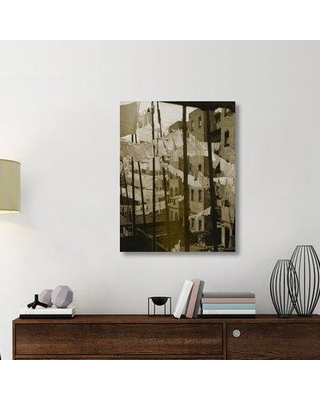 """East Urban Home 'Untitled (Tenements New York) Mid-late 1930s' Photographic Print on Wrapped Canvas ERNI8795 Size: 40"""" H x 30.8"""" W x 1.5"""" D"""