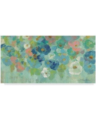 """Winston Porter 'Spring Aroma I' Acrylic Painting Print on Wrapped Canvas WNPO2629 Size: 16"""" H x 32"""" W x 2"""" D"""