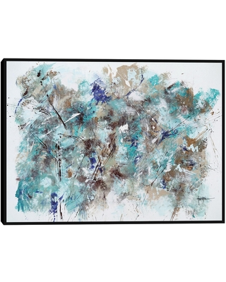 Forest by Dan Houston Framed Canvas Wall Art: White/Multi by World Market