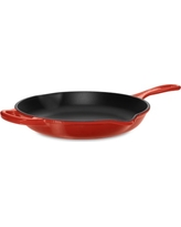 "Le Creuset Signature Cast-Iron Fry Pan, 10"", Red"