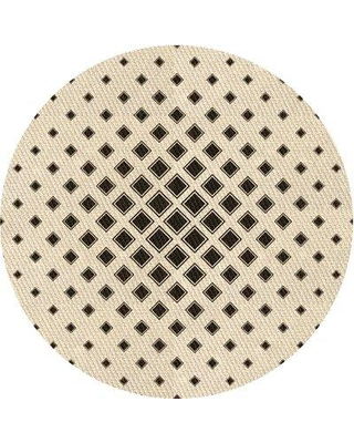 Amazing Deal On East Urban Home Navarette Geometric Brown Area Rug X113663170 Rug Size Round 7