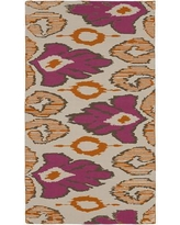 Beth Lacefield Alameda Hand woven Pink/Tan Area Rug AMD1003 Rug Size: Rectangle 8' x 11'